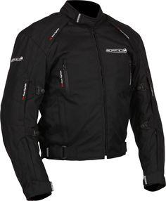 Ministry of Bikes - Buffalo Misano Motorcycle Jacket - Black, �99.99 (http://www.ministryofbikes.co.uk/buffalo-misano-motorcycle-jacket-black.html/)