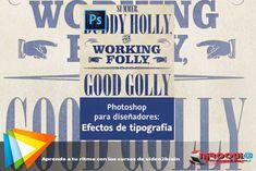 Descargar Curso Photoshop para diseñadores Efectos de tipografía |MEGA| 2 LINK