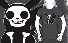 Pikachu Skeleton by MinetteMona