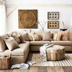 Modern Living Room DecorAutumn