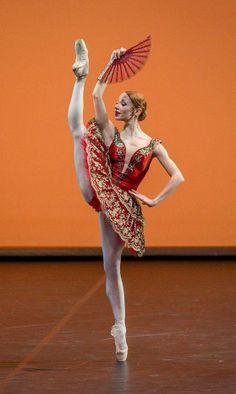 "Jana Salenko as Kitri in ""Don Quixote"""