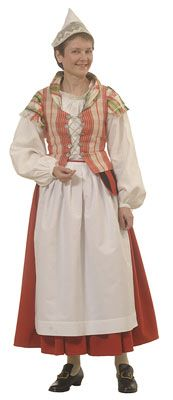 FolkCostume&Embroidery: Overview of the Folk Costumes of Europe, Finland Folk Clothing, Folk Costume, Different Patterns, Dance Costumes, Traditional Dresses, Europe, Embroidery, Clothes For Women, Finland