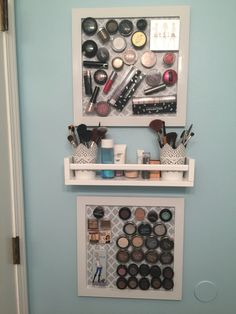Magnetic makeup board w/shelf                                                                                                                                                                                 More