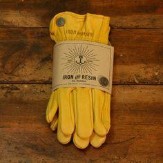 Café Glove, Yellow - Iron & Resin