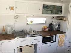 IKEA the s#*t out of it! - Living in a Caravan-Camper - kitchen area