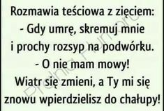 Rozmawia teściowa Weekend Humor, Motto, Memes, Funny Quotes, Lol, Haha, Jokes, Humor, Polish Sayings