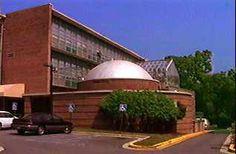 Picture of the                      planetarium on Fenton Street in Takoma Park,                      Maryland, 20912