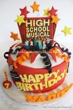 High School Musical Cake For Nan