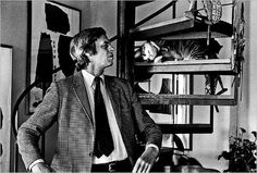 Journalist/writer/editor/actor George Plimpton co-founded the Paris Review and was particularly well known for his immersive take on sports writing, often involving himself competing in professional sporting events and then recording the event.