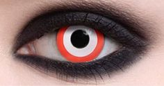 Saw Target Halloween Costume Colored Contact Lenses Halloween Contacts, Costume Contact Lenses, Natural Contact Lenses, Vampire Look, Colored Contacts, Halloween Costumes, Target, Makeup, Maquillaje