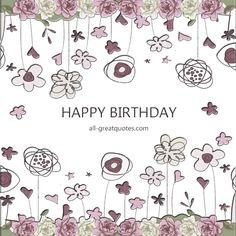 Happy Birthday   all-greatquotes.com #HappyBirthday #BirthdayWishes