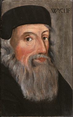 John Wycliffe condemned as a heretic. The theologian was denounced by the church on May 4th, 1415.  Morning Star of the Reformation: John Wycliffe in a 16th-century portrait.