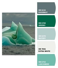 Love Watery! By Sherwin-Williams