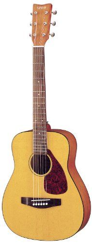 Yamaha FG JR1 3/4 Size Acoustic Guitar with Gig Bag - (Natural) Yamaha http://smile.amazon.com/dp/B00009J580/ref=cm_sw_r_pi_dp_aObnub1VP9CKJ