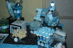 Treat Me Sweet: Mickey Mouse 1st Birthday Dessert Table @Gerry L Lynch