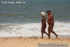 Tourist Attraction India: Anjuna Beach Goa