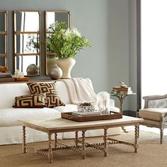 Wisteria - Furniture - Shop by Category - Coffee Tables -  Barley Twist Coffee Table - $1,199.00