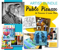 Save time and money by purchasing a bundled collection of Picasso art projects and resources including a FREE student worksheet Artist Bundle: Pablo Picasso