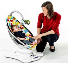 The Cradle that Bounces | 30 Unexpected Baby Shower Gifts That Are Sheer Genius