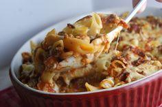 Penne lasagna
