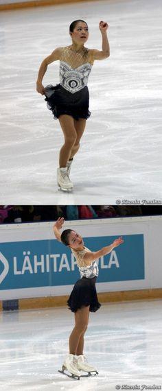 Akiko Suzuki skating to The Phantom of the Opera for her long program at the 2013 Finlandia Trophy.
