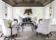 Designer Nancy Braithwaite's Atlanta home. Simon Upton...