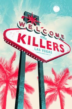The Killers - Gigposter 2016