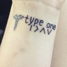 """""""I am greater than my highs and lows. I guess I'm stuck with the betes forever officially #diabetestattoo #medicalalerttattoo"""""""