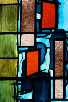 Coventry Cathedral - 8 | The Baptistry Window by John Piper