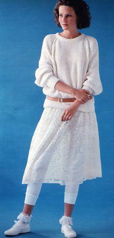 80's fashion.