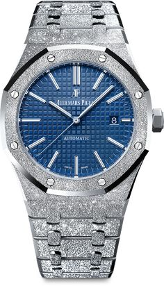 uring SIHH Audemars Piguet released two Royal Oak Frosted Gold watches – a quartz version Audemars Piguet Price, Audemars Piguet Diver, Audemars Piguet Watches, Audemars Piguet Royal Oak, Best Watches For Men, Luxury Watches For Men, Cool Watches, Rolex Watches, Diamond Watches