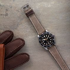 Canvas And Leather Watch Strap – HODINKEE Shop