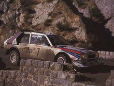 1986 Monte Carlo Rally  Lancia Delta S4  Henri Toivonen  Sergio Cresto