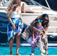 Beyonce blue ivy Kelly Rowland vacation