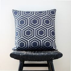 Colbolt blue linen pillow case $55