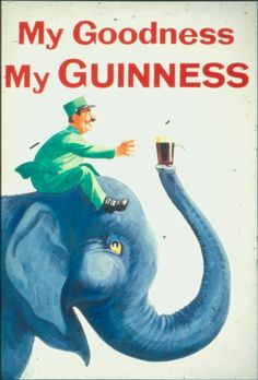 My Goodness My Guinness (Elephant & Zookeeper)