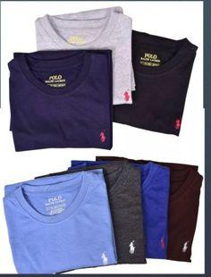 628dc018c9f9 Details about New Men Polo Ralph Lauren Crew Neck T-Shirt S M L XL 3XL 4XL  5XL - STANDARD FIT