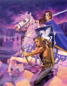 Jody Lee - art for Winds of Fate by Mercedes Lackey - 1991 Daw Books hardcover
