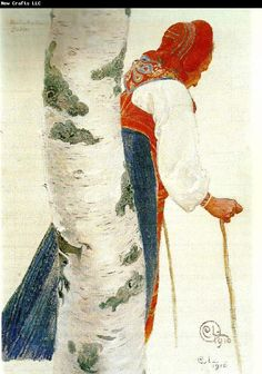 Carl Larsson -- Bodakulla