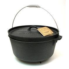 Old Mountain 12 Quart Dutch Oven with Feet >>> Read more reviews of the product by visiting the link on the image.(This is an Amazon affiliate link)