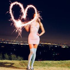 Love from Los Angeles! Glitter this #NYE in the Cali Sun & Fun collection by #AmericanApparel