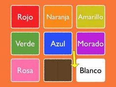 Spanish Vocabulary Learn Colors In Less Than 5 Minutes