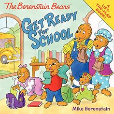 The Berenstain Bears Get Ready for School by Mike Berenstain http://www.amazon.com/dp/0062075527/ref=cm_sw_r_pi_dp_Cicqvb0SCZ361