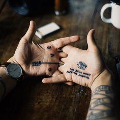 Meet the Hands. #tattoo #ink
