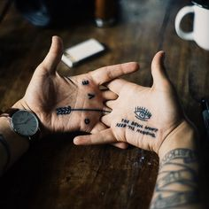 Meet the Hands. #tattoo #ink
