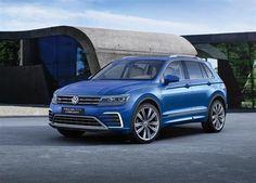Volkswagen Tiguan GTE : l'hybride rechargeable à Francfort