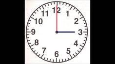 Instructiefilmpje klokkijken met kwartieren