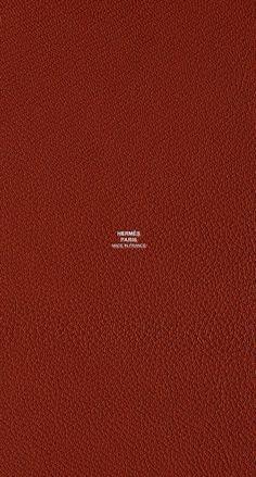 エルメス/レザーレッド iPhone壁紙 Wallpaper Backgrounds iPhone6/6S and Plus Hermès