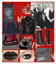 rammstein girl by slytheriner on Polyvore featuring Dondup