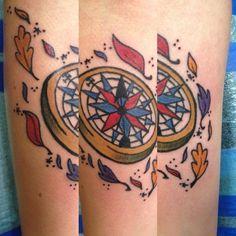 compass pocahontas tattoo compass tattoo disney tattoos tattoo ...